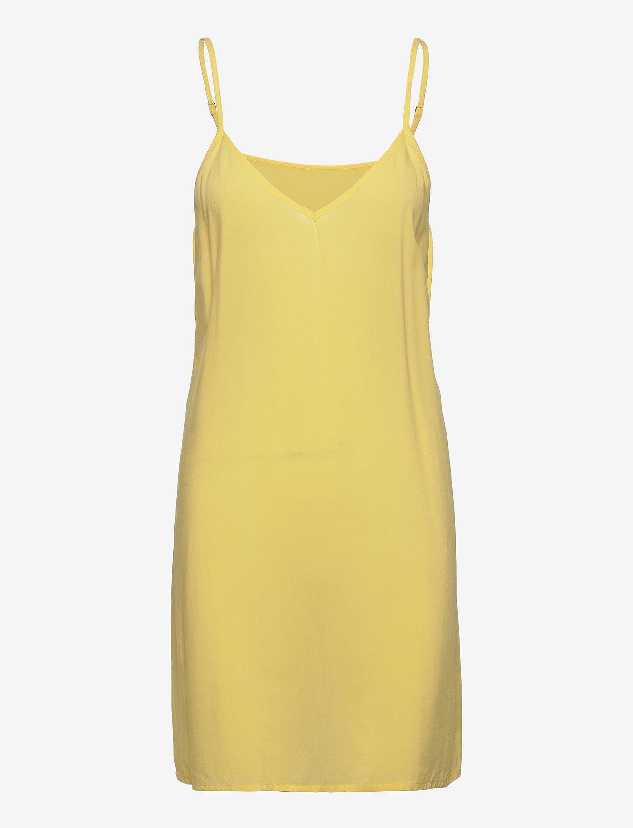 Just Female - Ventura dress - sommerkjoler - lemon grass - 3