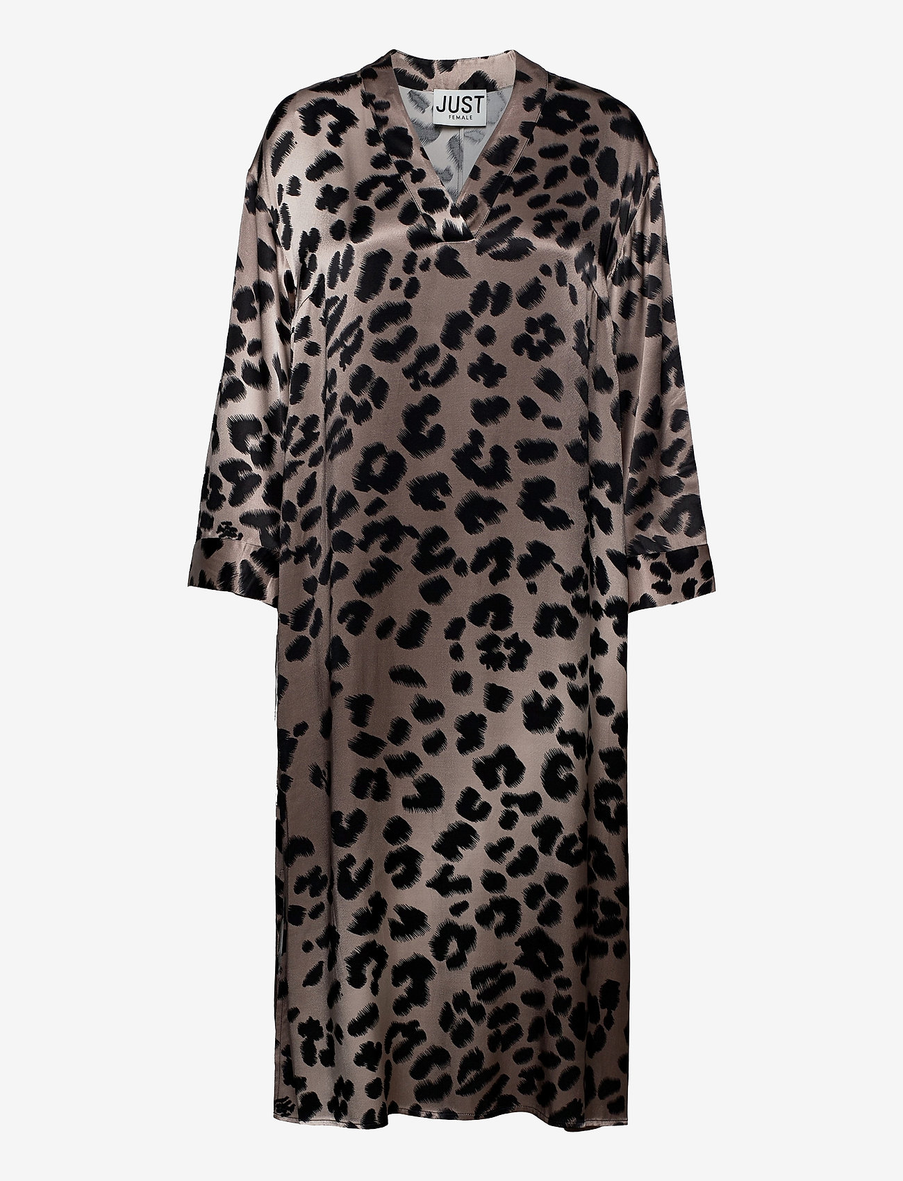 Just Female - Laguna dress - vardagsklänningar - leopard - 1