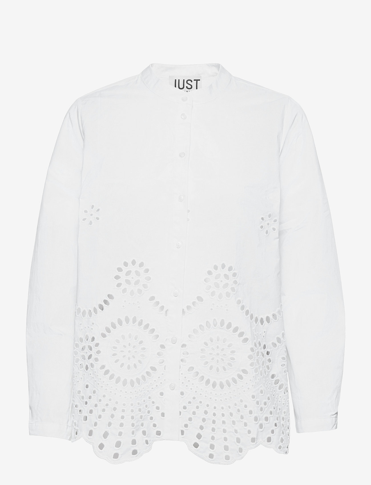 Just Female - Rise shirt - long-sleeved shirts - white - 1