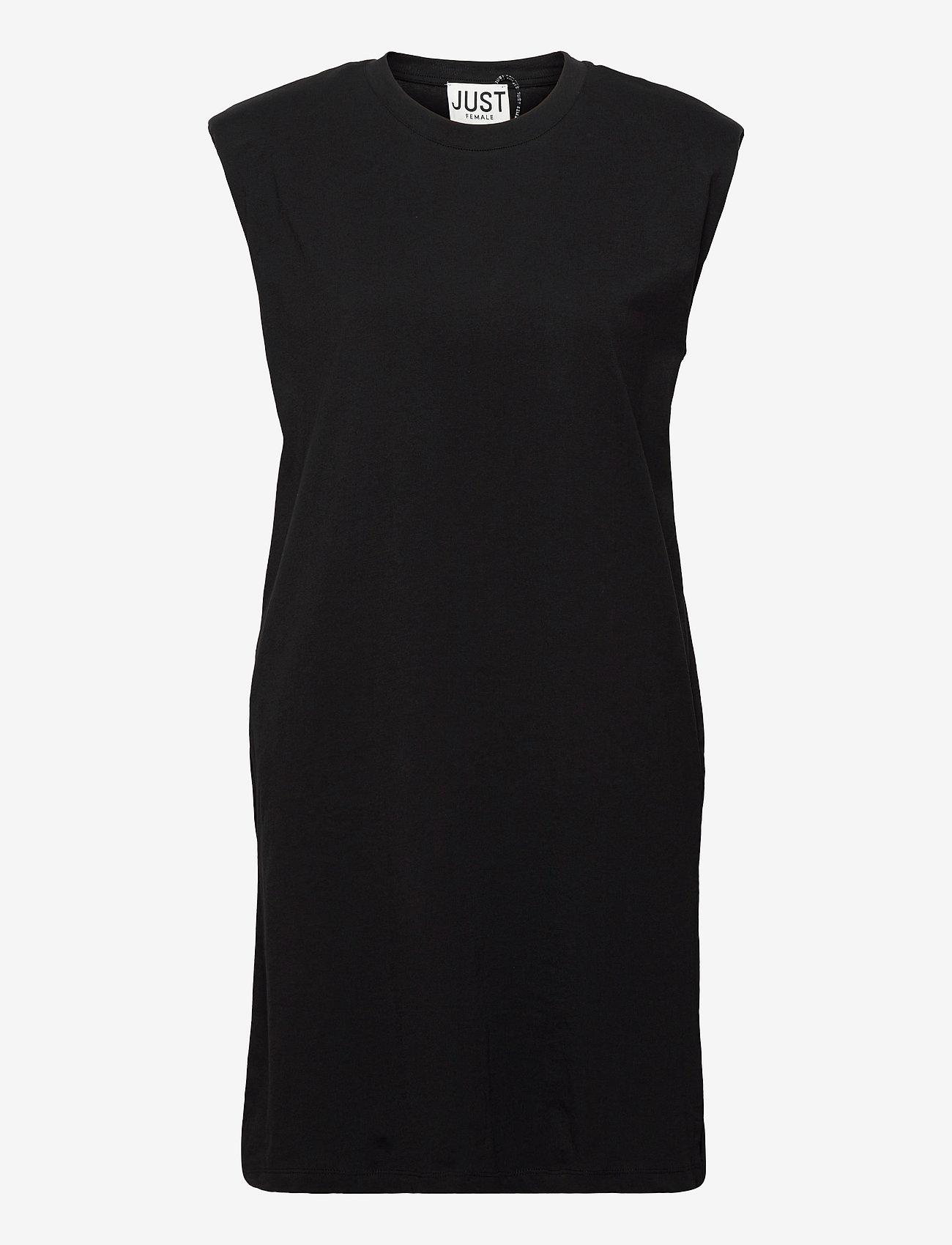 Just Female - Beijing dress - midi dresses - black - 0