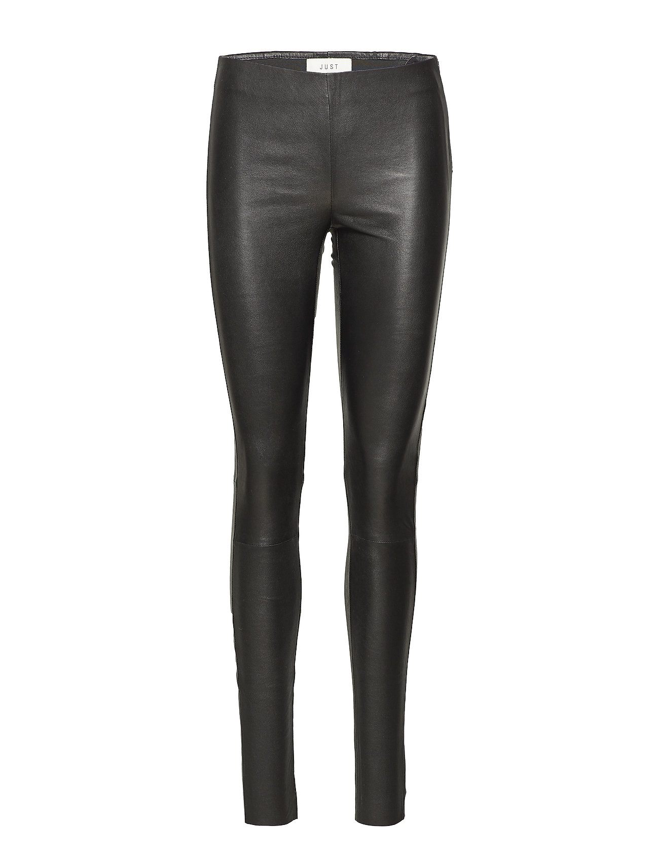 Image of Nex Leather Leggings Leather Leggings/Bukser Sort JUST FEMALE (3216262081)