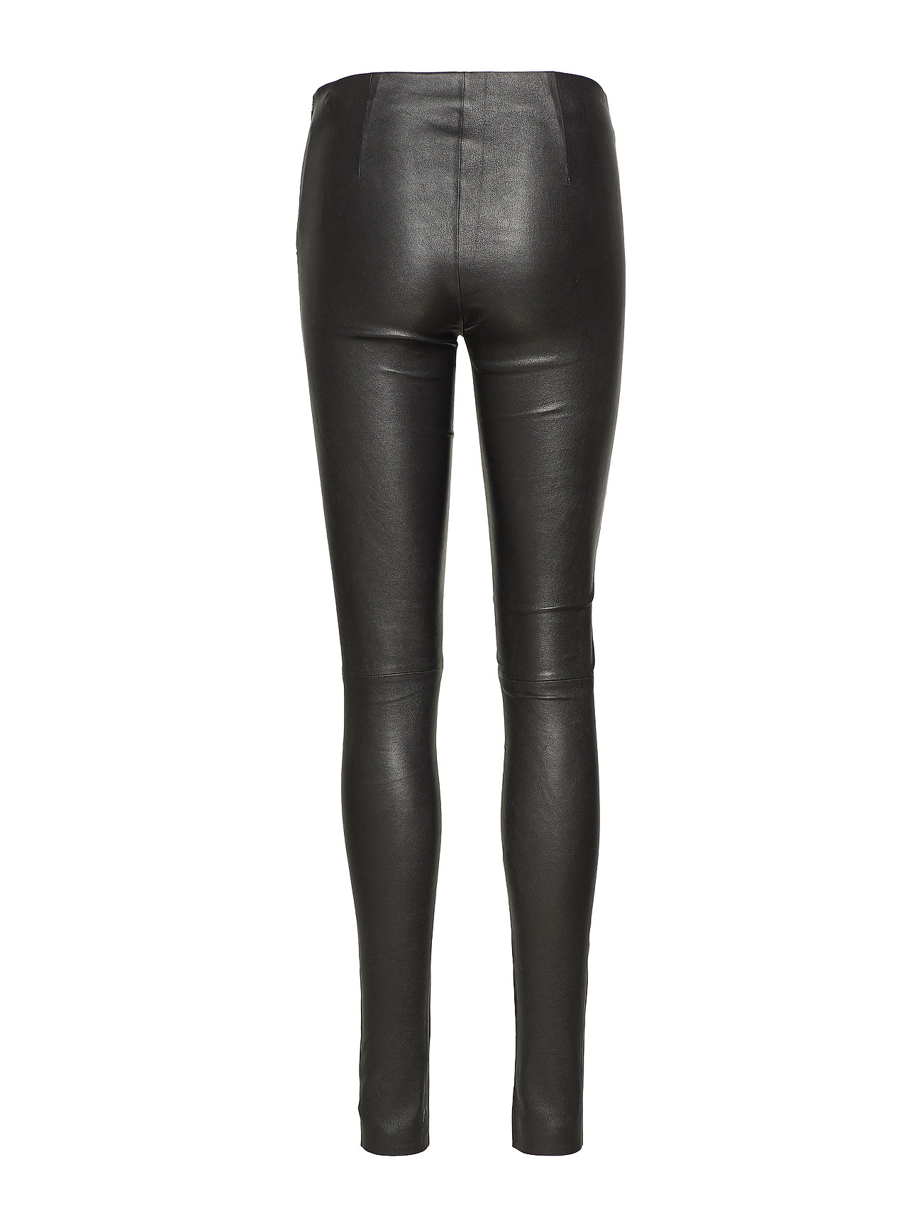 Just Female - Nex leather leggings - leather trousers - black - 1