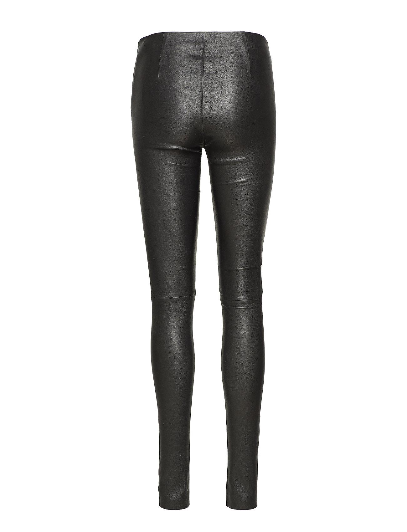Just Female - Nex leather leggings - skinnbyxor - black - 1