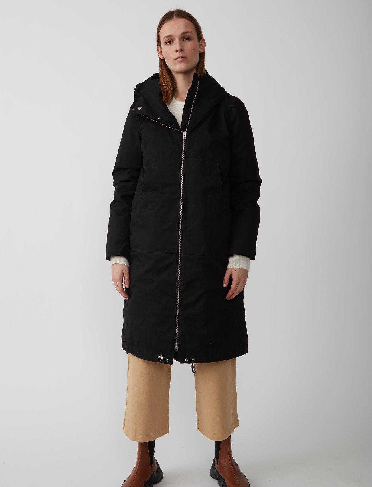 Just Female - Steal coat - padded coats - black - 0