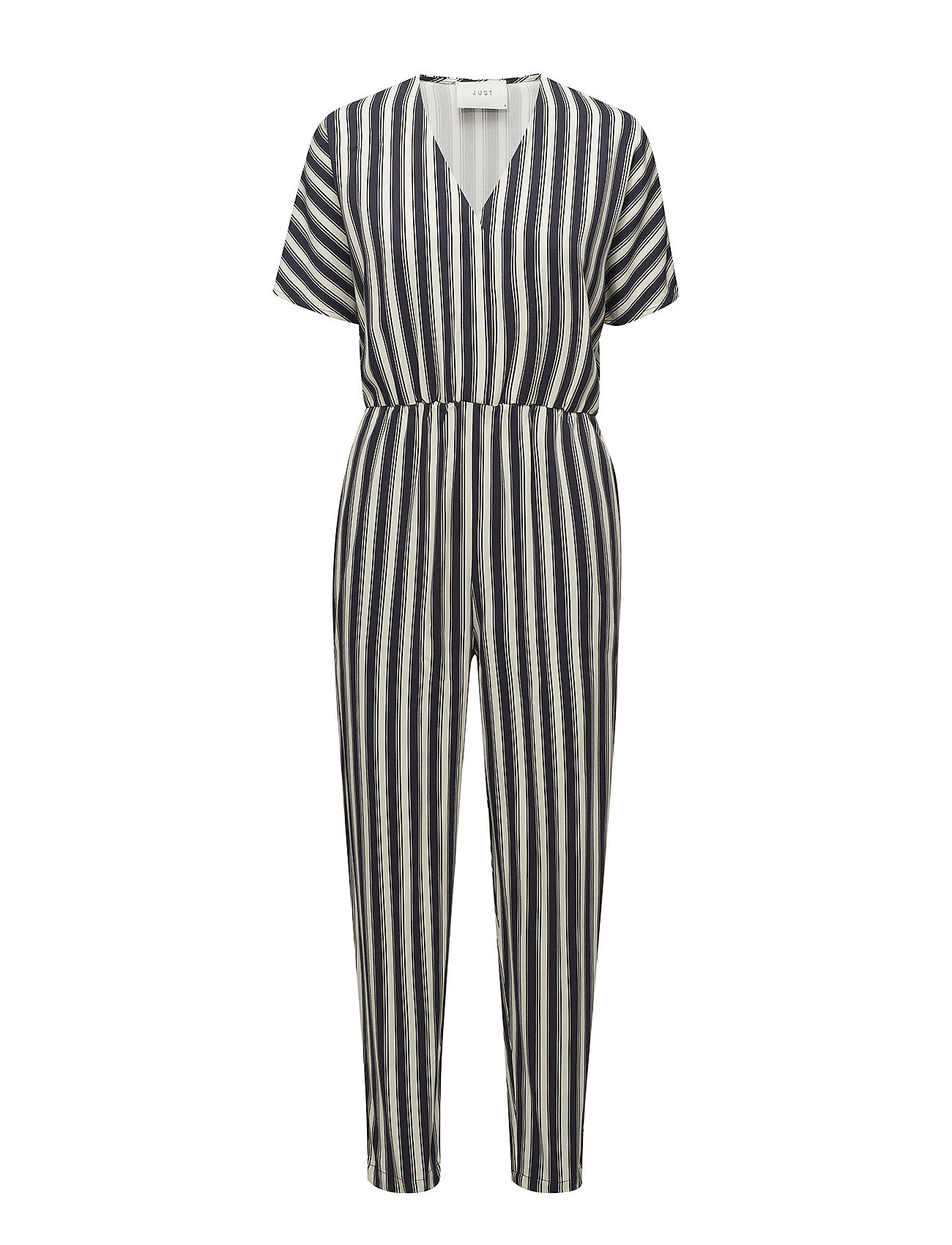 Just Female Fanny jumpsuit - BLUE STRIPE