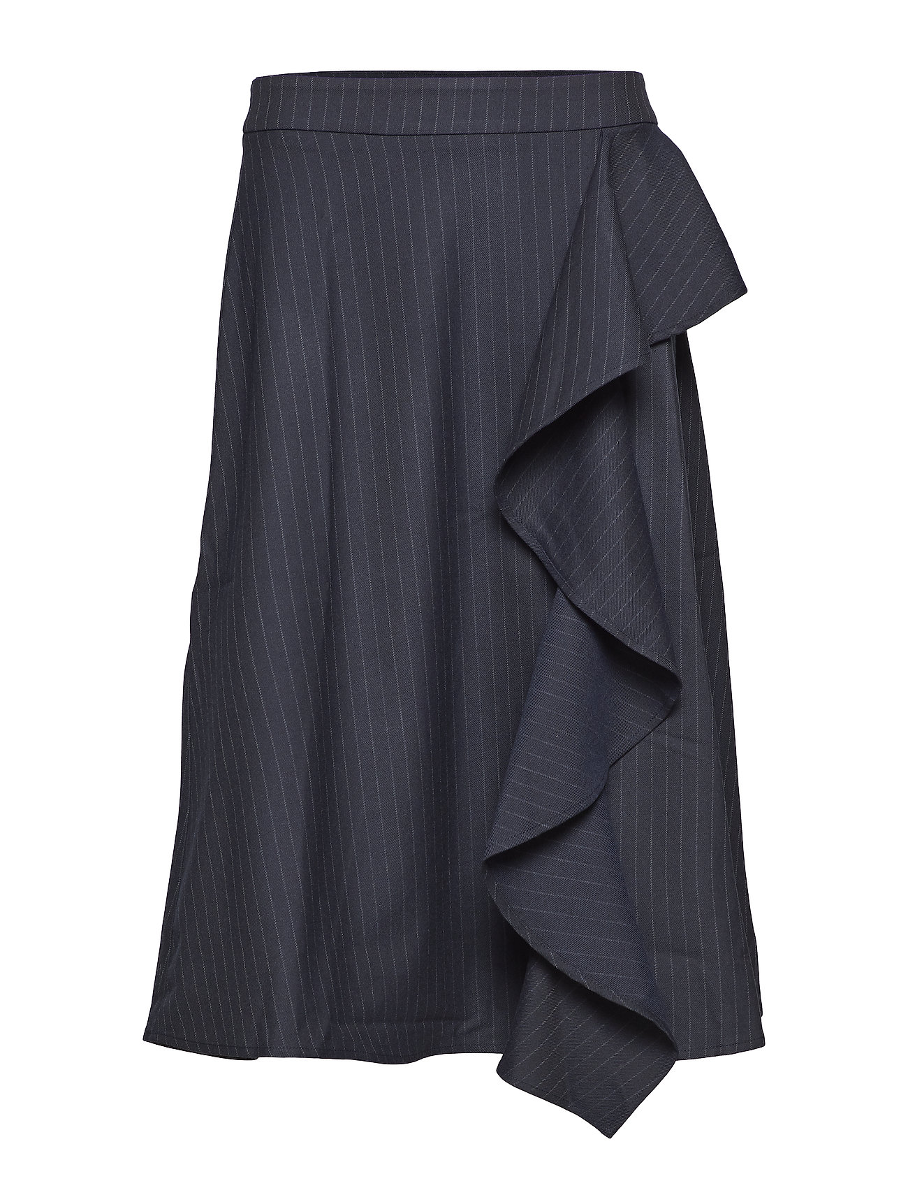 Just Female Lily skirt - BLUE PINSTRIPE