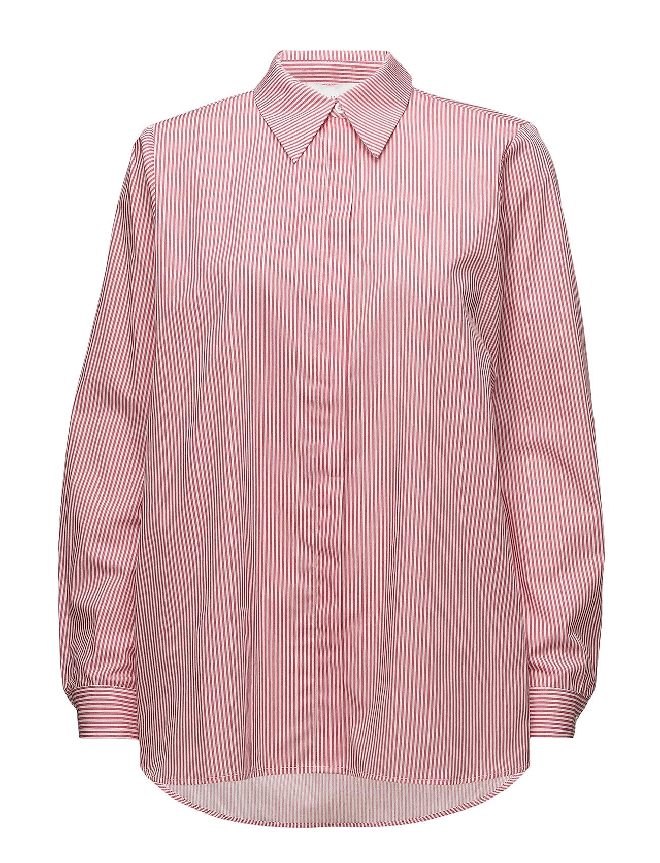 Image of Timeo Shirt Langærmet Skjorte Lyserød Just Female (3052621079)