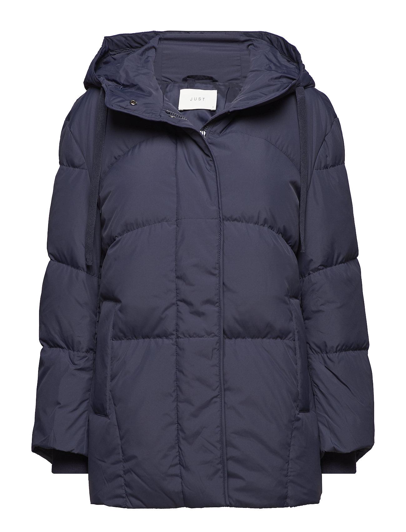 Just Female Puffy coat - DARK SAPPHIRE