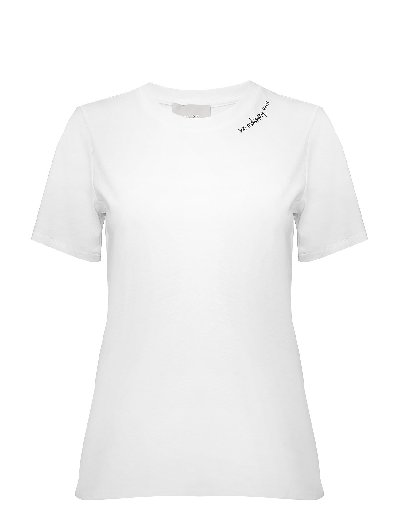Just Female Muse tee - OPTICAL WHITE
