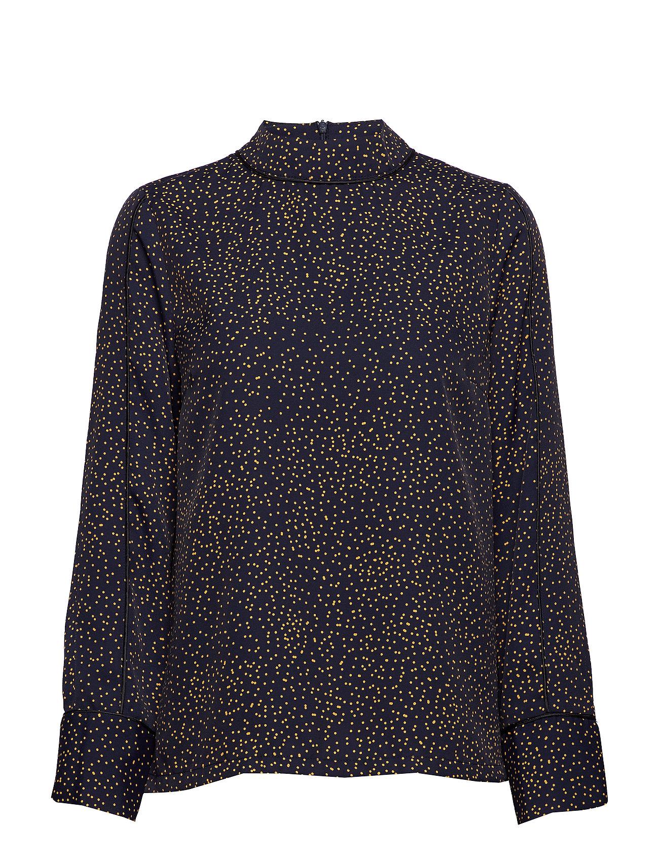 Just Female Hana blouse - DOT MIX AOP