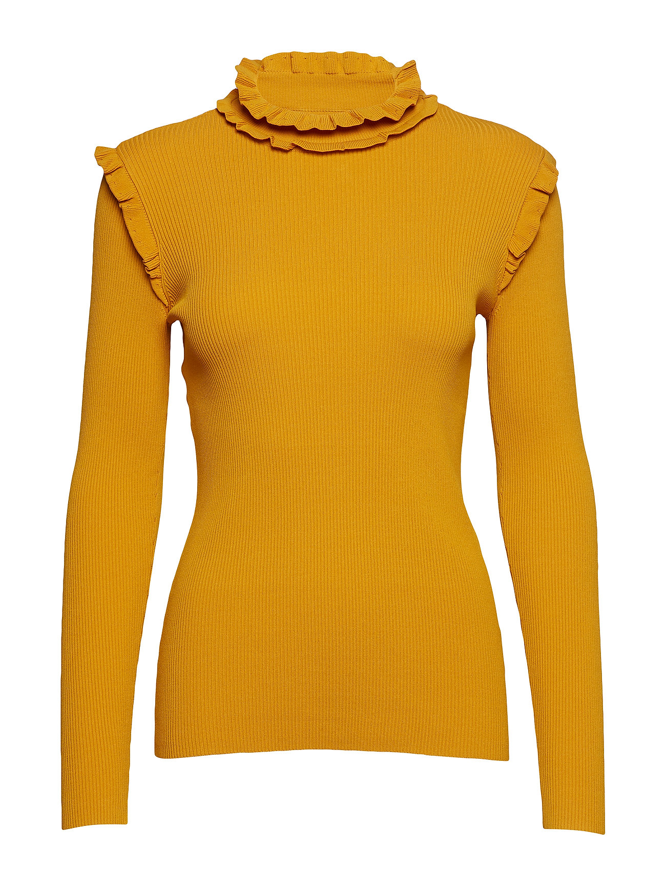 Just Female Frikka knit - GOLDEN YELLOW