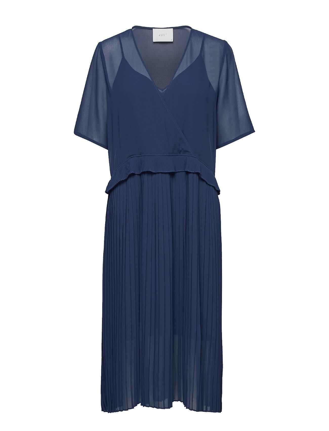 Just Female Jose dress - BLUE IRIS