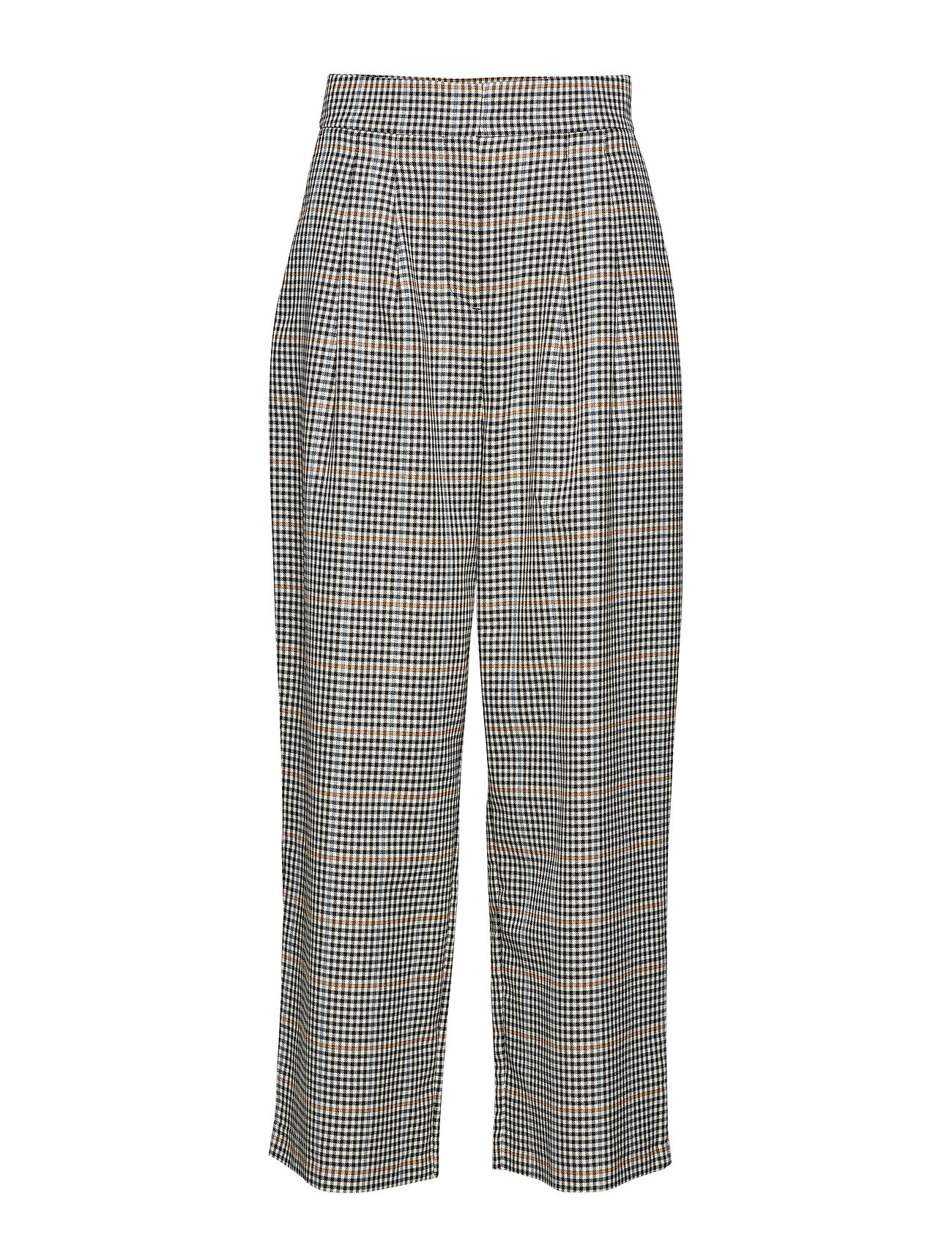 Just Female Holmes wide trousers - BRIGHT CHECK