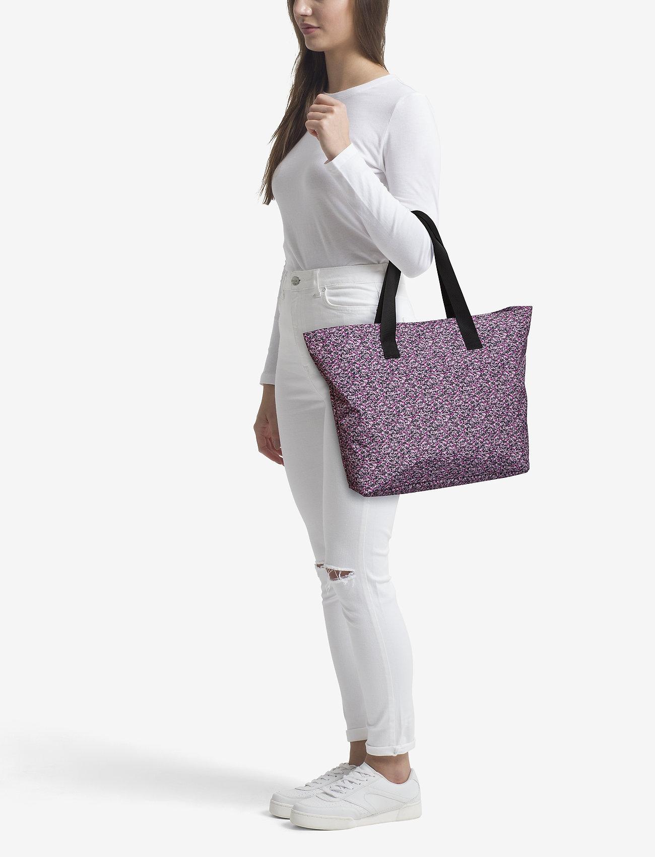 Just Female Big shopper - JESSE PURPLE AOP