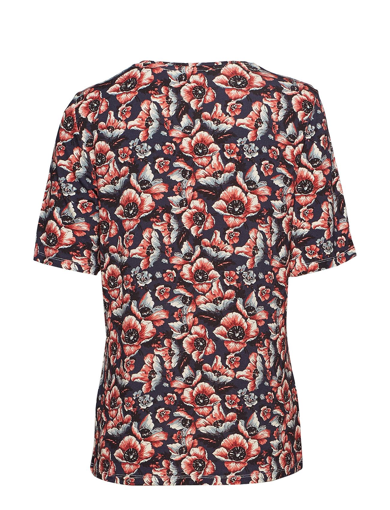 Just Female Maya tee - T-shirty i zopy WILD FLOWER - Kobiety Odzież.