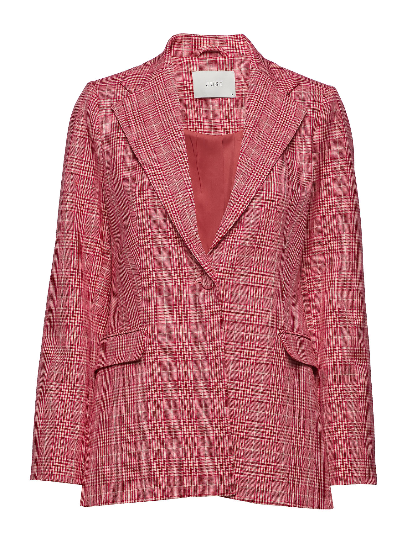 Just Female Maxime Blazer - ROSE CHECK