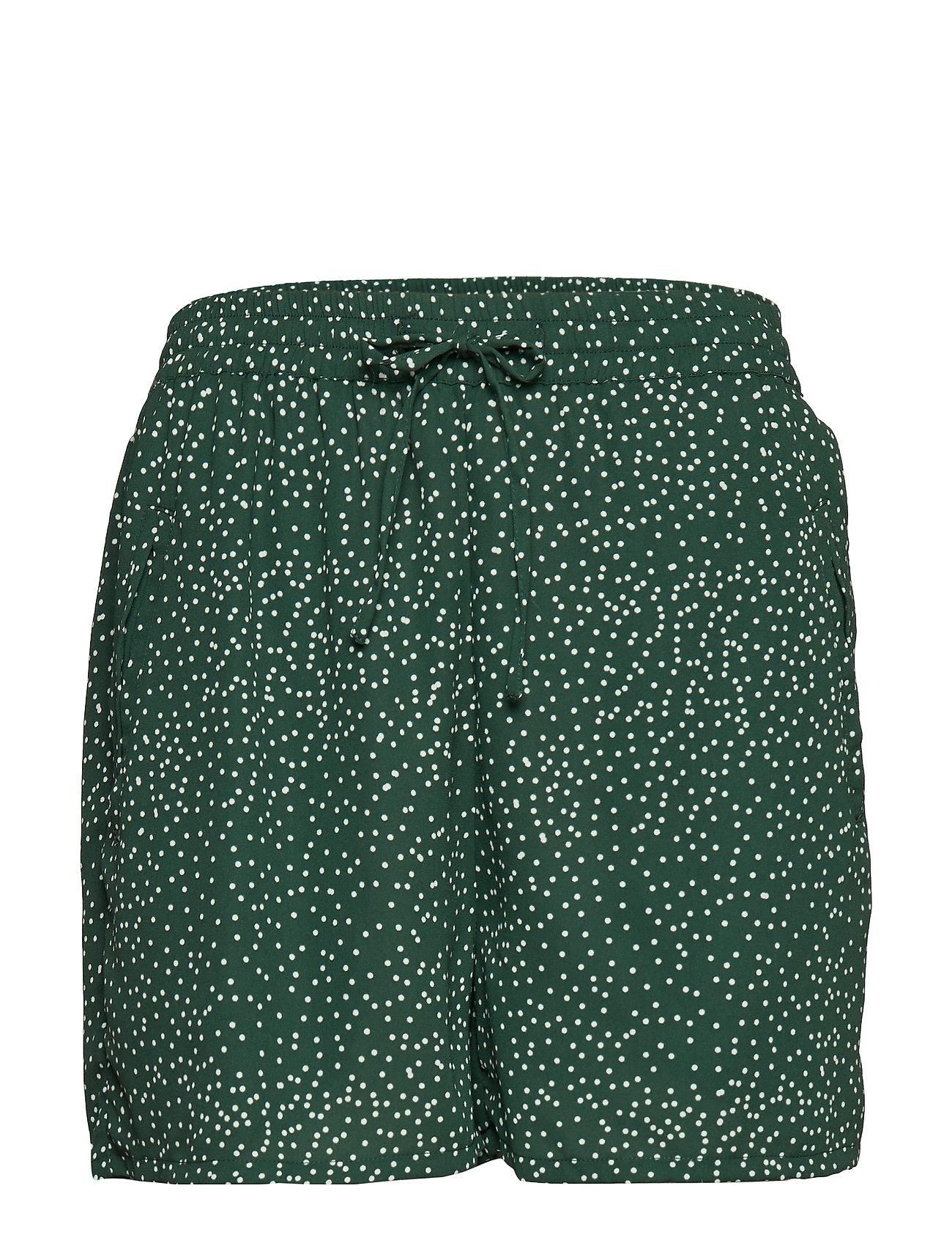 Just Female Image shorts - GREEN DOT