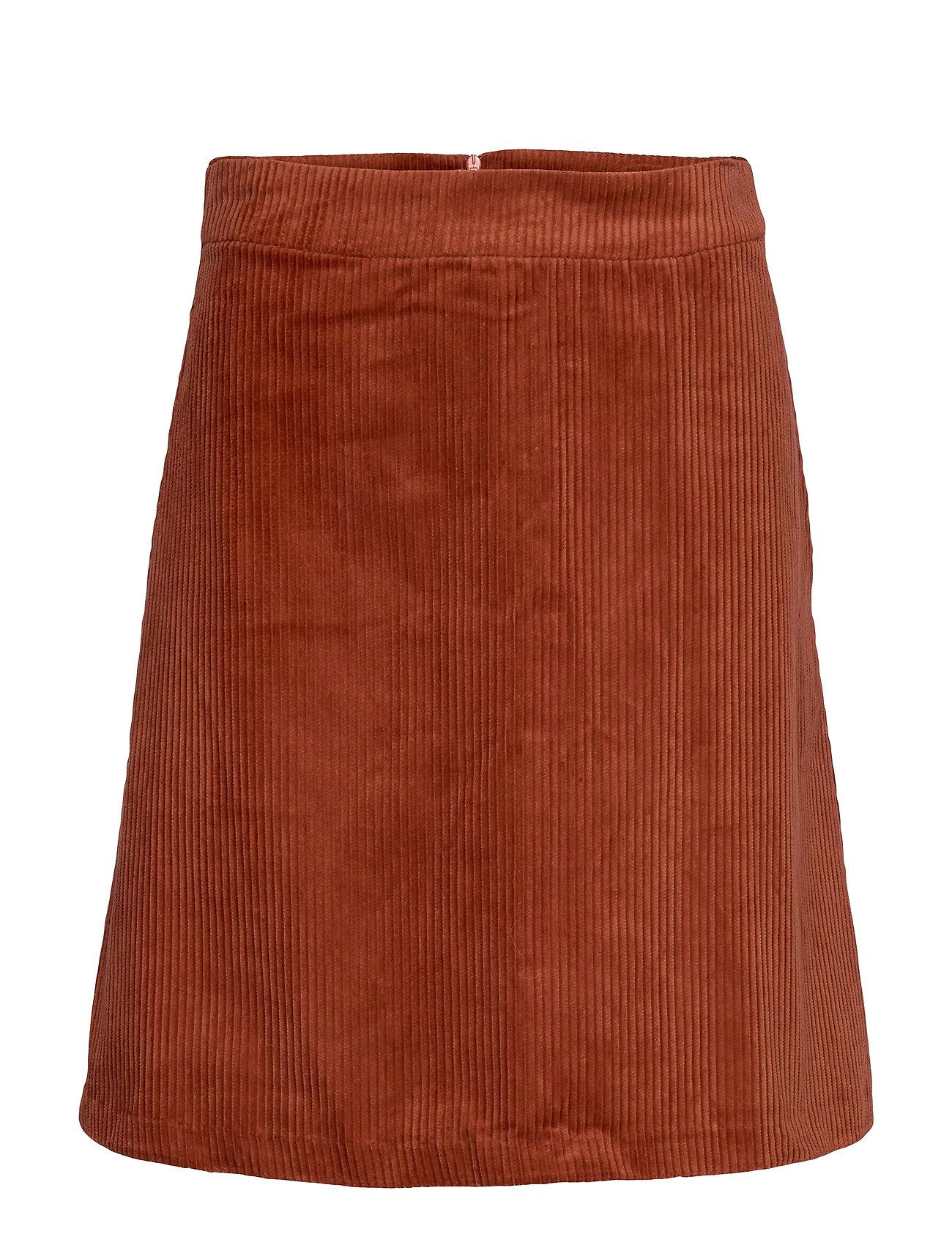 Just Female Jane skirt - RED OCHRE