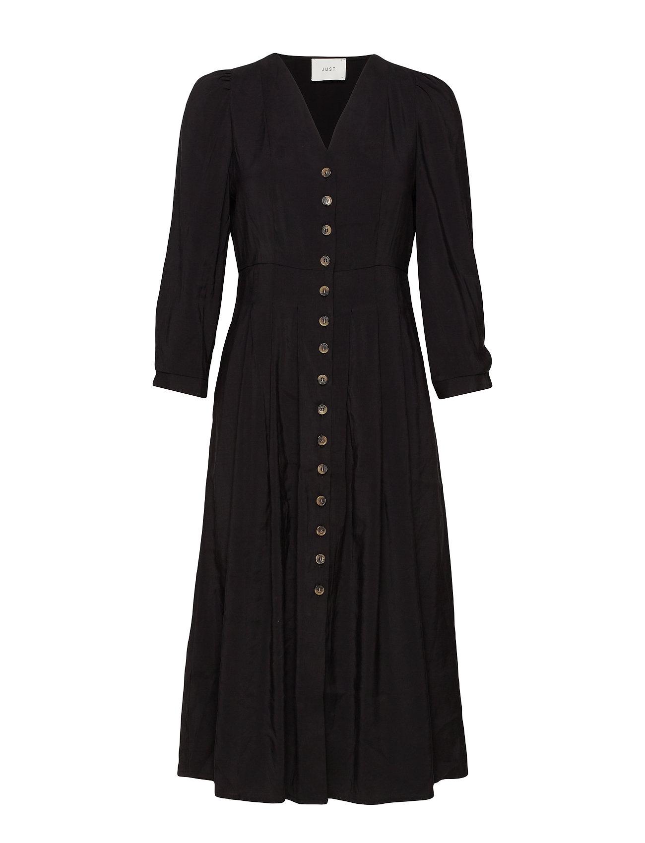 Just Female Jena dress - BLACK