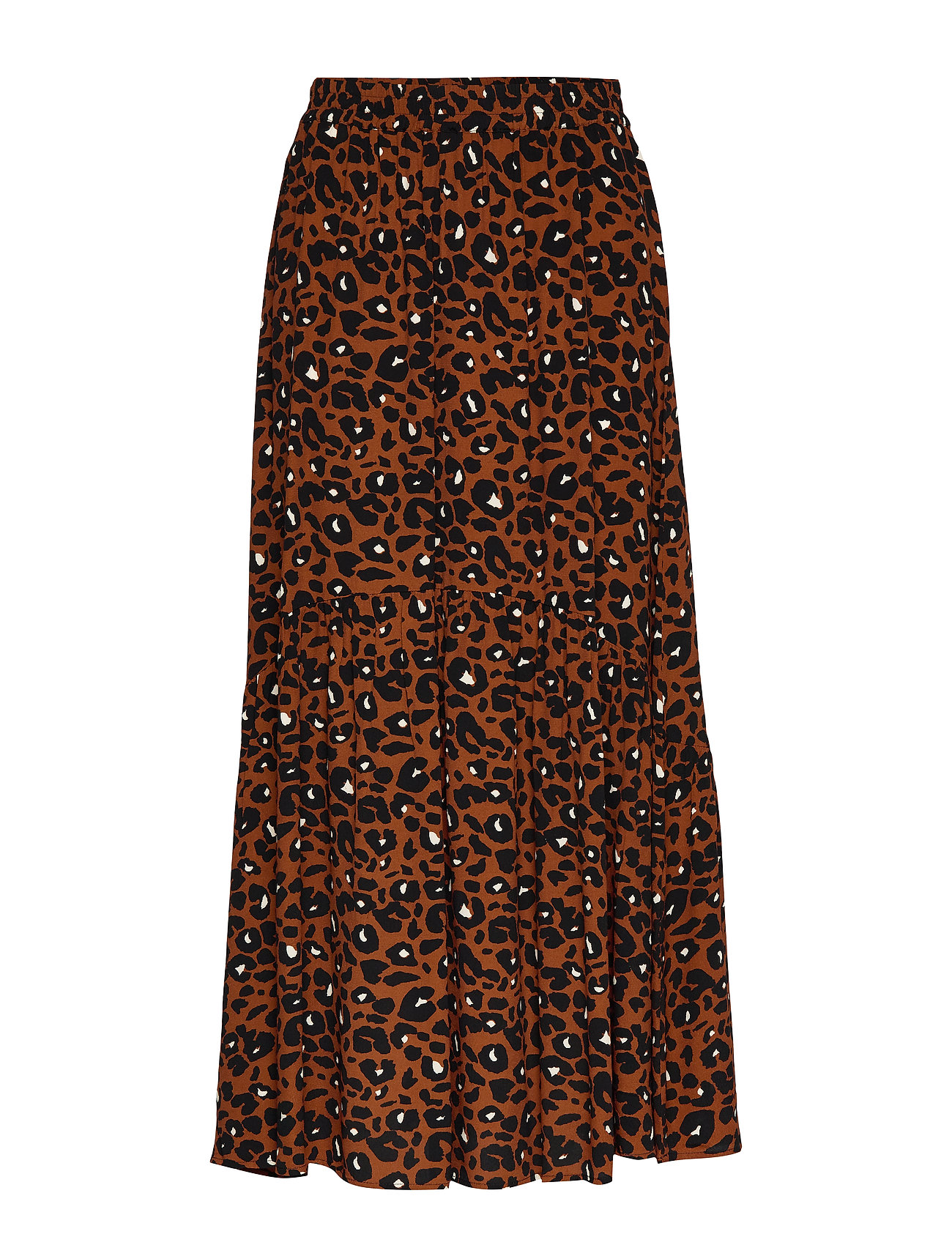 Just Female Leona maxi skirt - URBAN LEO AOP
