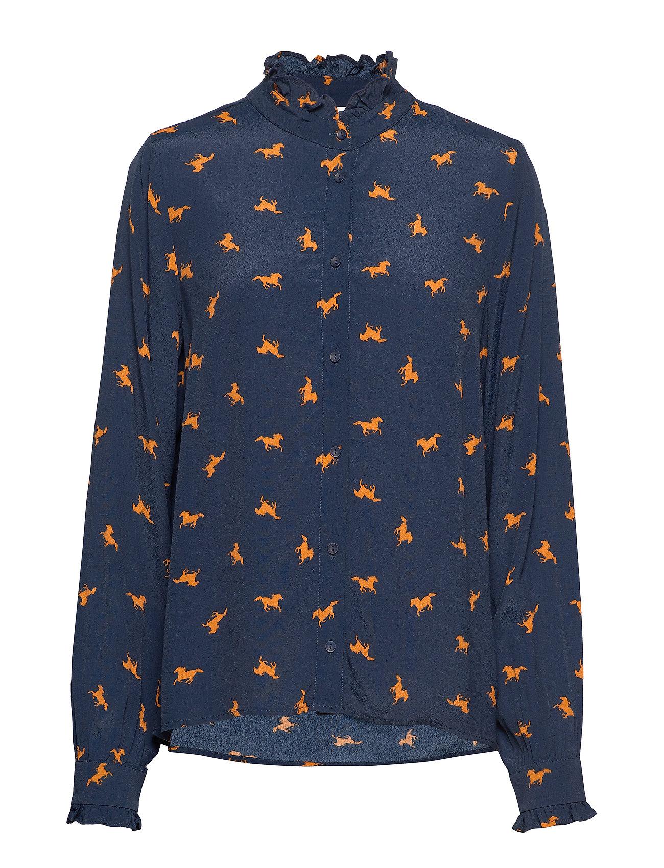 Just Female Veria shirt - HORSE AOP