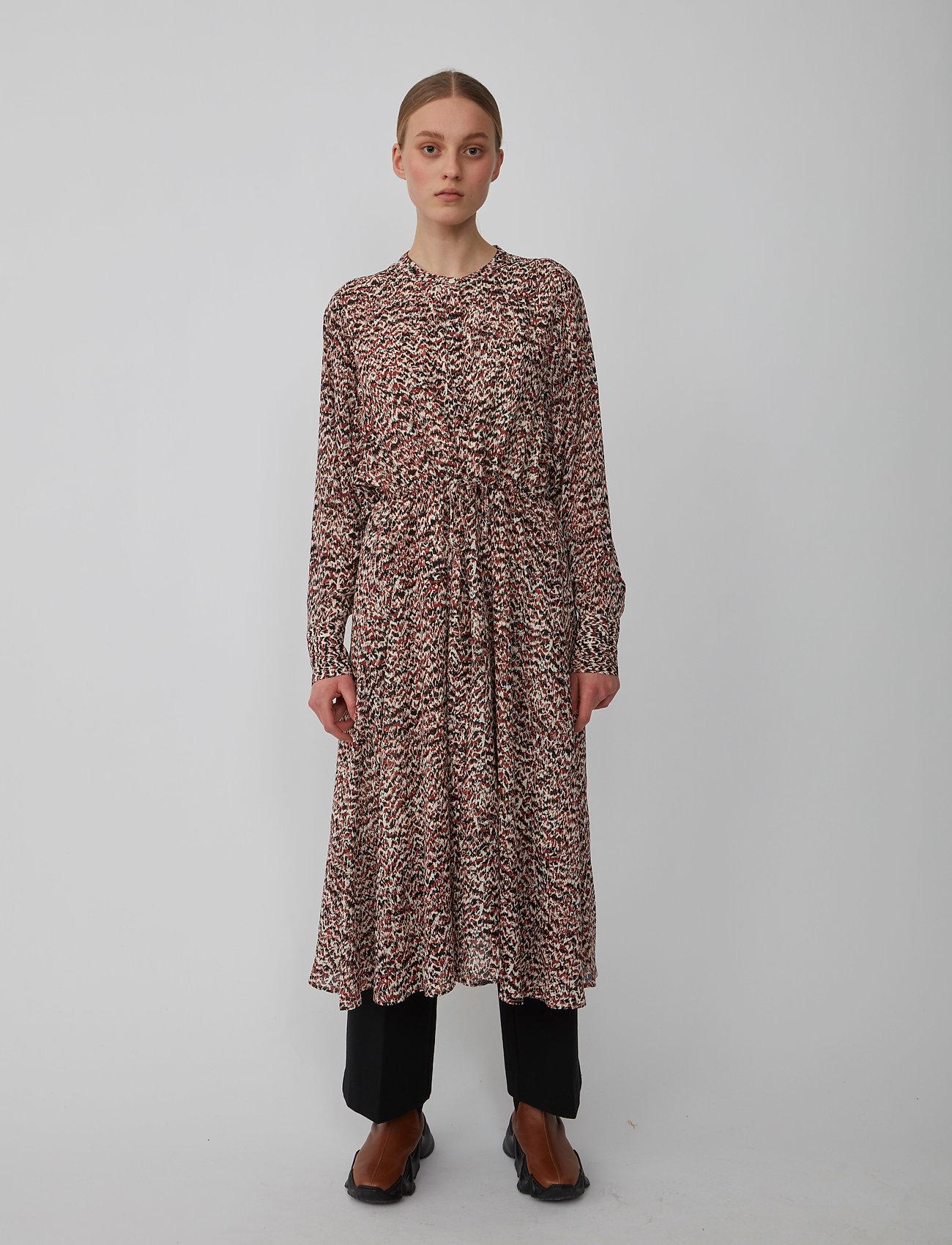 Just Female - Virginia dress - summer dresses - sketchy ikat aop - 0