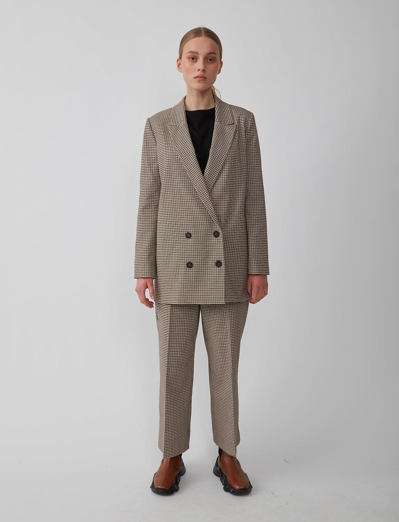 Just Female - Kelly blazer - oversized blazers - kelly check - 0