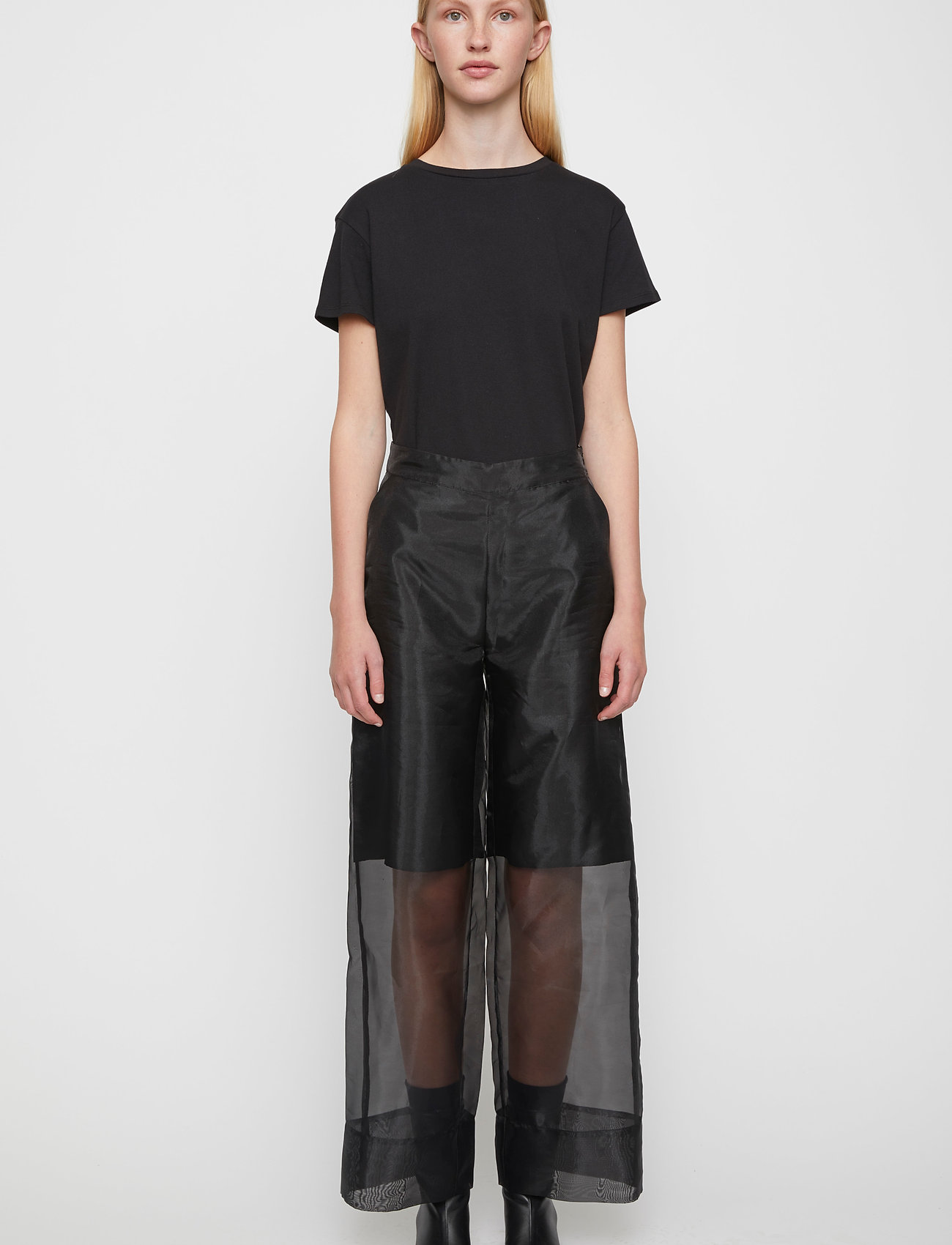 Just Female - Cologne trousers - wide leg trousers - black - 0