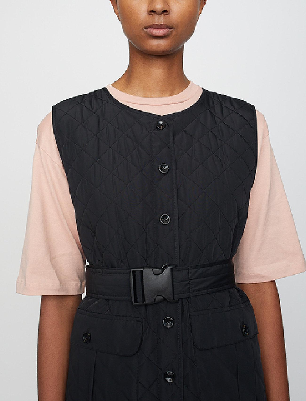 Just Female - Hisar vest - puffer vests - black - 5