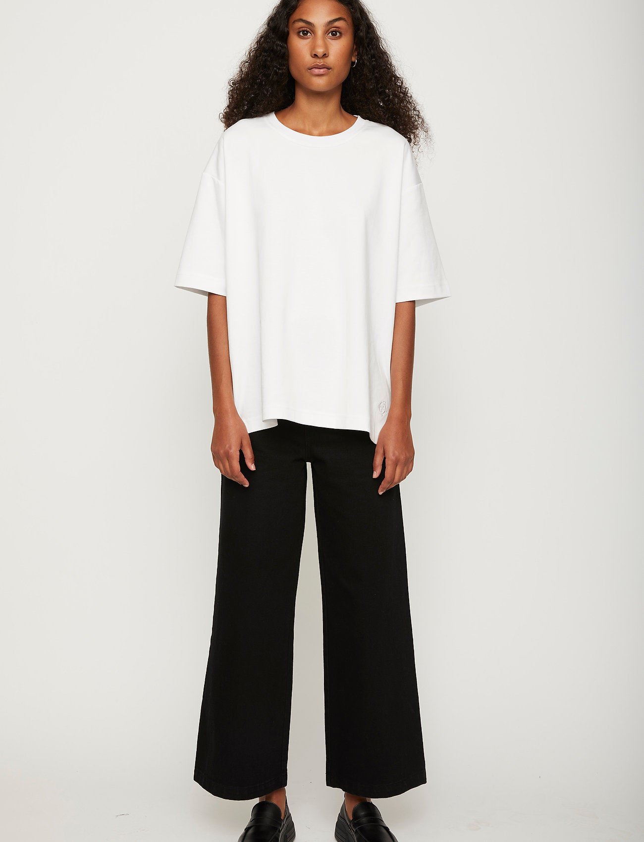 Just Female - Kyoto long tee - t-shirts - white - 0
