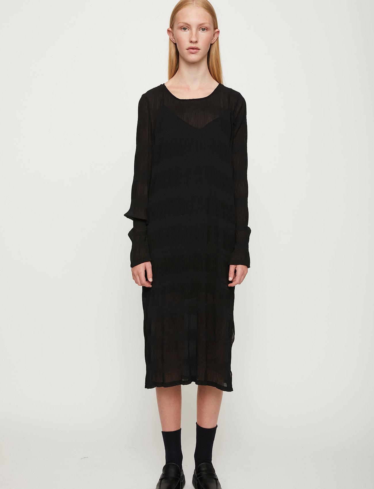 Just Female - Kifi dress - midi dresses - black - 0