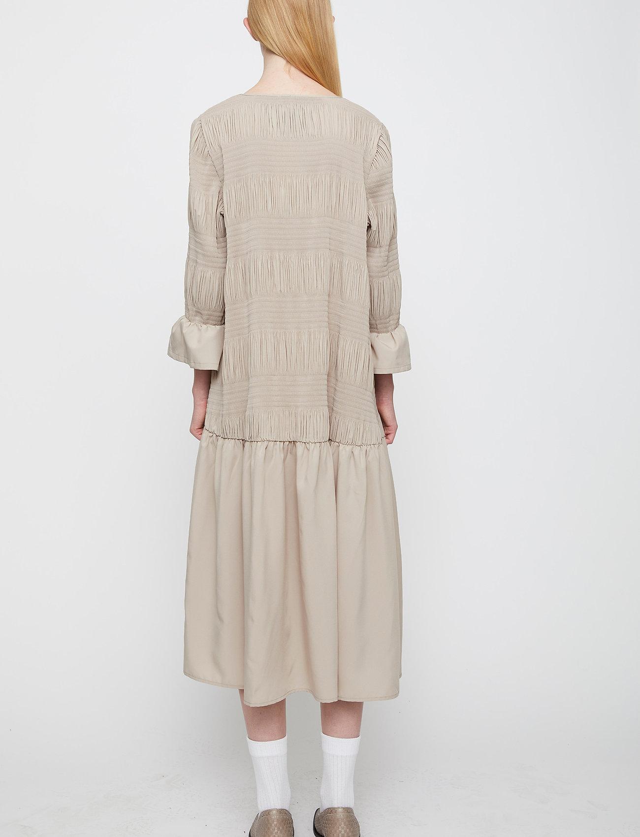 Just Female - Etienne dress - midi kjoler - cobblestone - 5