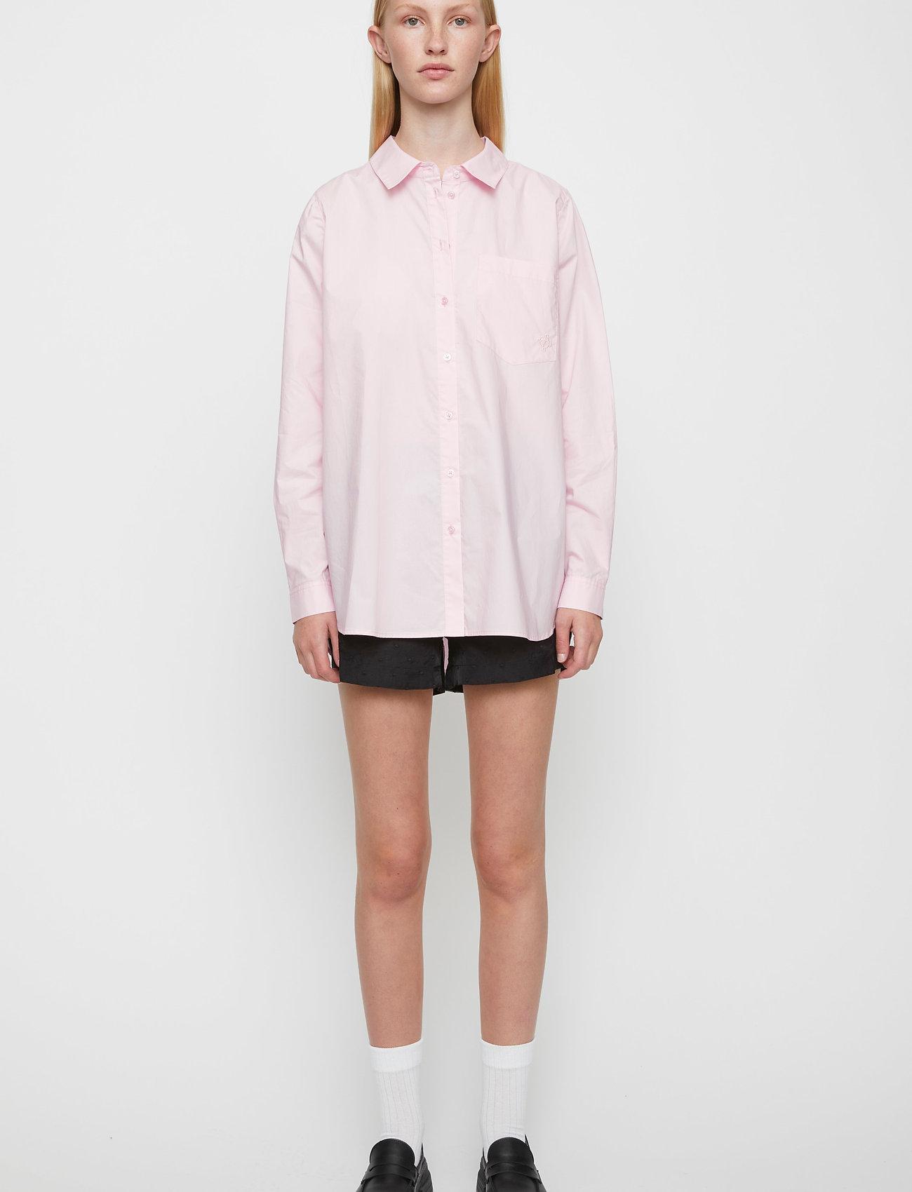 Just Female - Dallas shirt - long-sleeved shirts - pink mist - 0