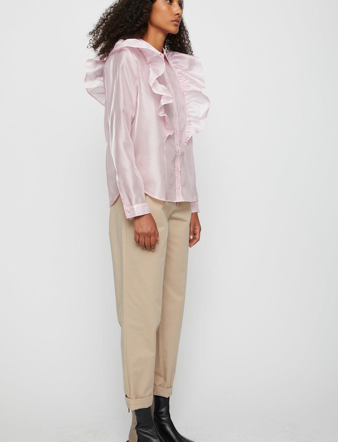 Just Female - Cholet shirt - long-sleeved shirts - pink mist - 4