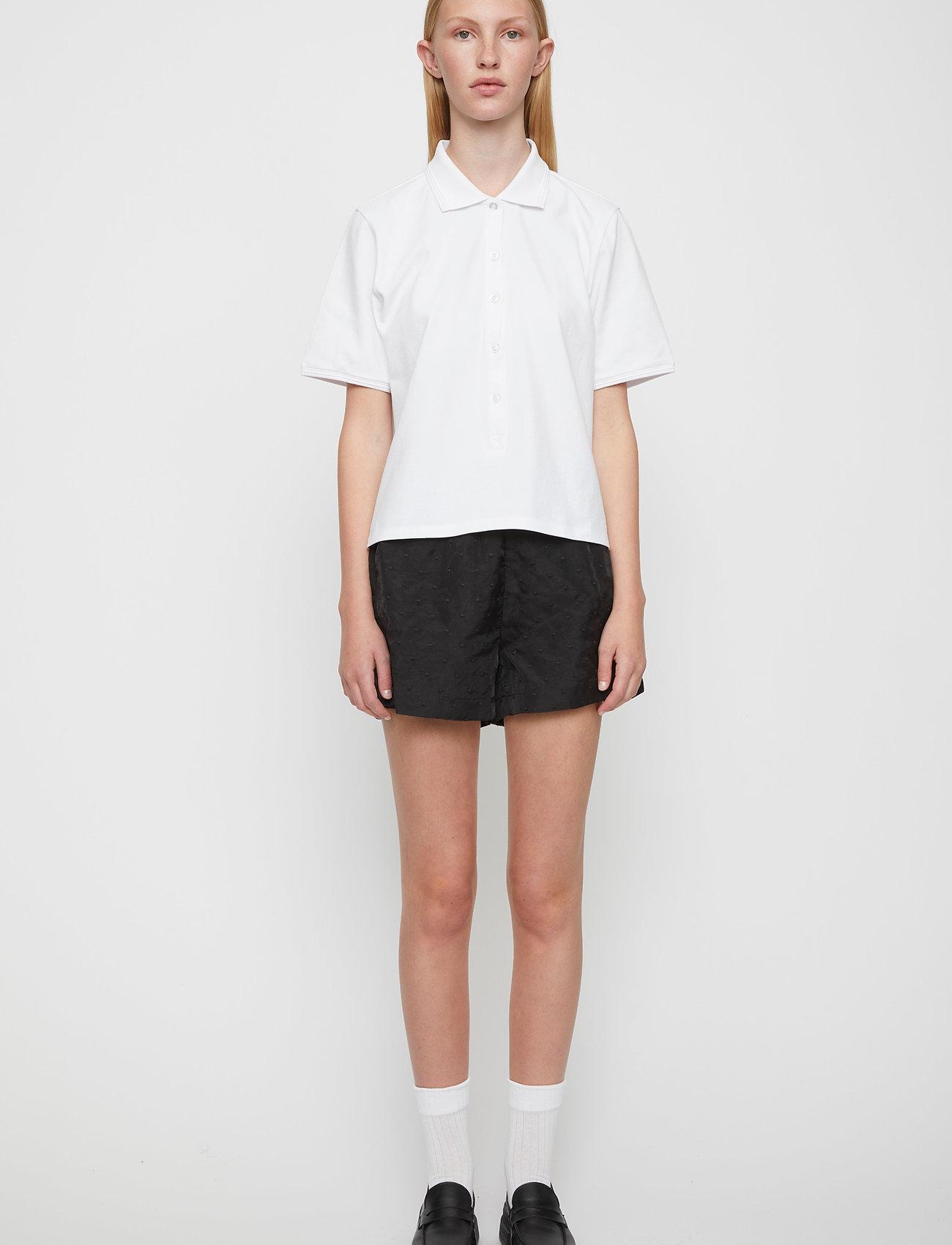 Just Female - Santo polo shirt - polo shirts - white - 0