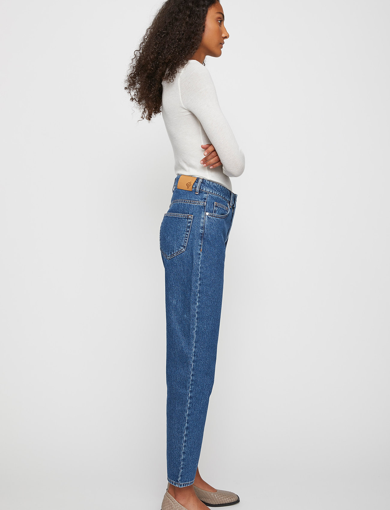 Just Female - Stormy jeans 0102 - straight regular - middle blue - 4