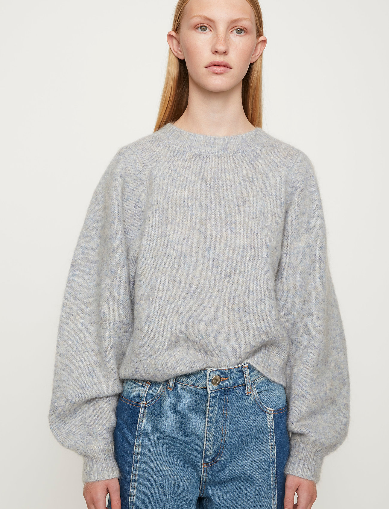 Just Female - Girona knit - jumpers - pumice stone - 0