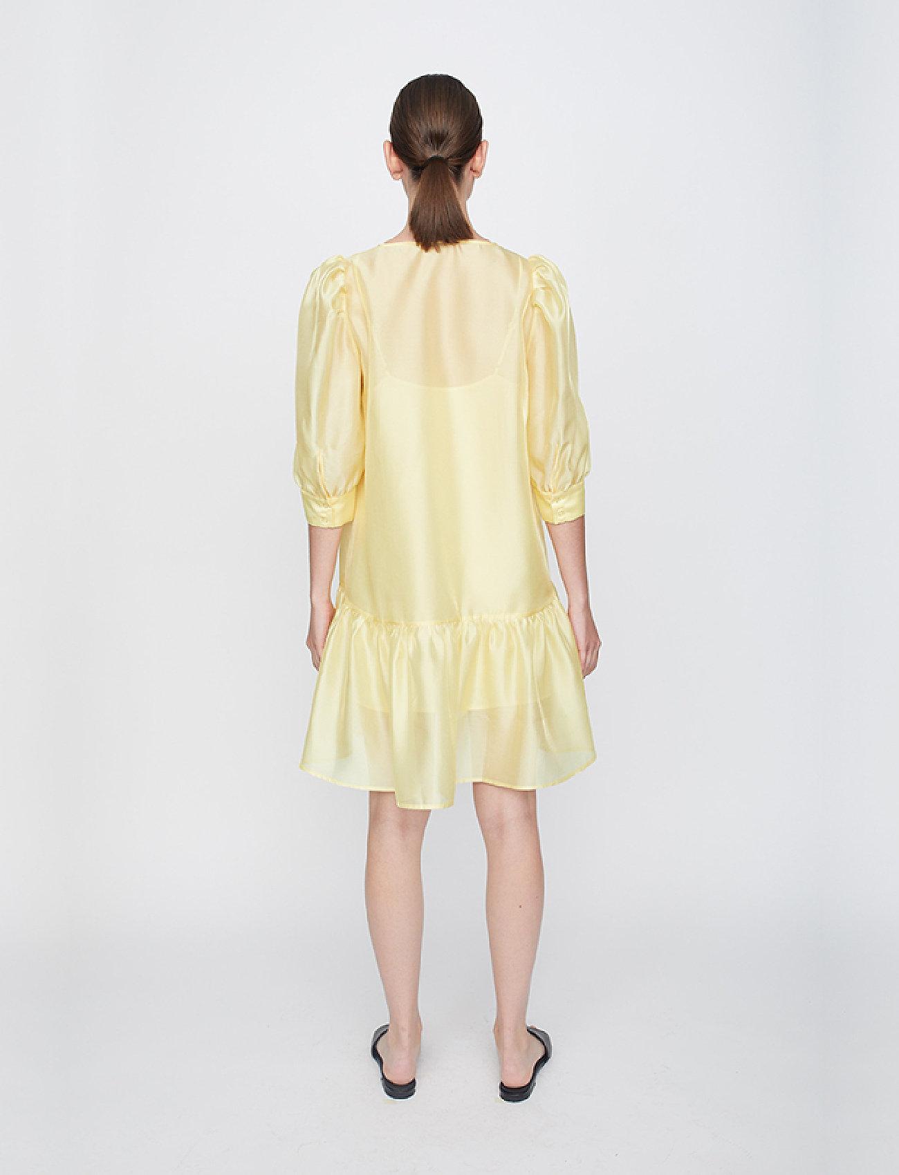 Just Female - Ventura dress - sommerkjoler - lemon grass - 6
