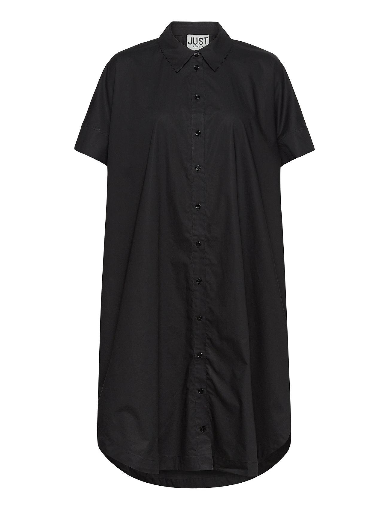 Noria Shirt Dress Dresses Shirt Dresses Sort Just Female