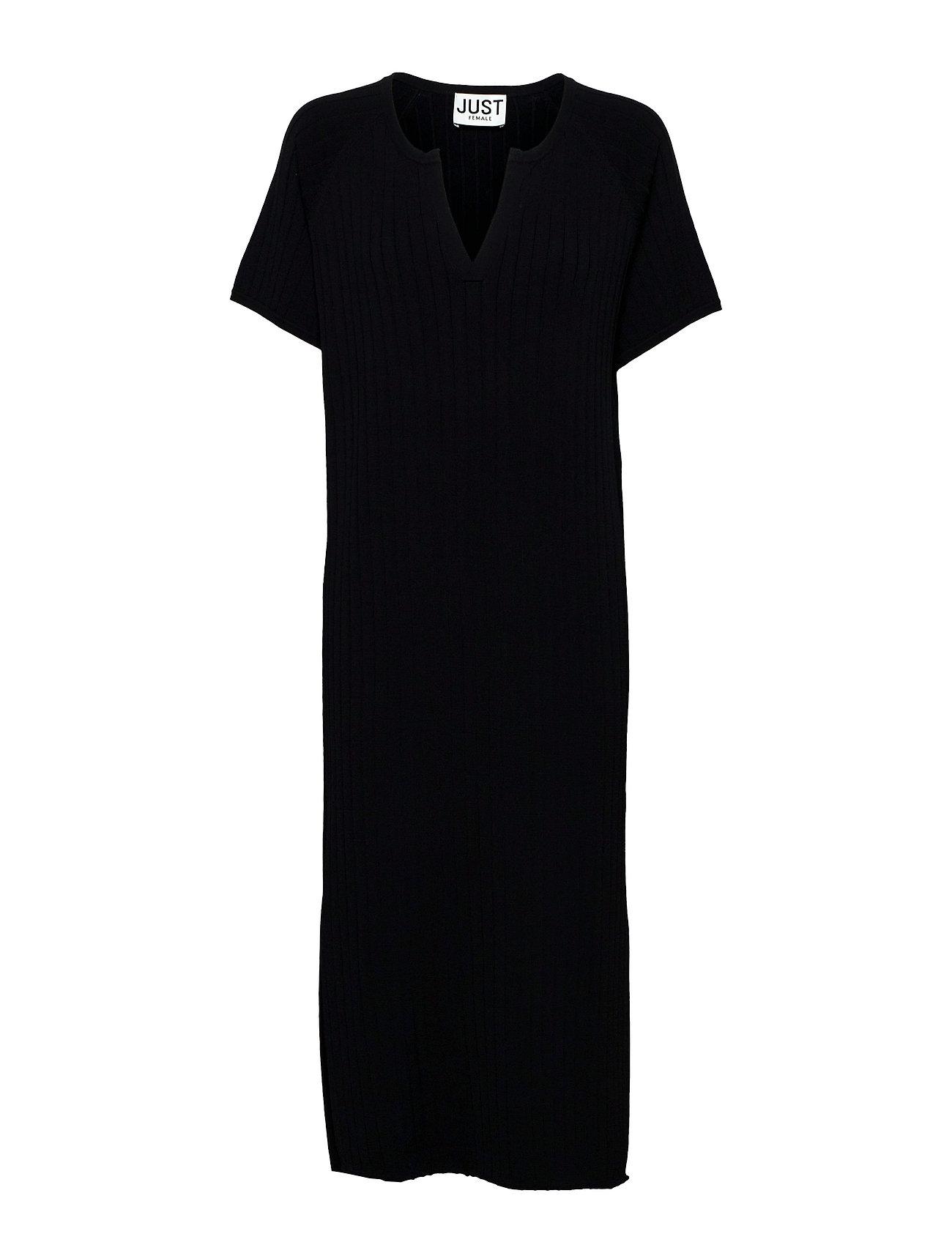 Fave Dress Dresses Knitted Dresses Sort Just Female