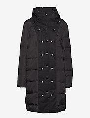Just Female - Steal coat - padded coats - black - 4