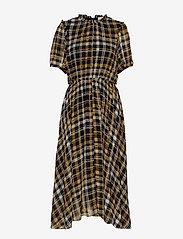Just Female - Brix dress - midi dresses - karen check aop - 1
