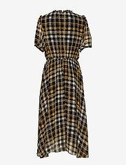 Just Female - Brix dress - midi dresses - karen check aop - 2