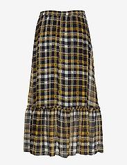 Just Female - Brix maxi skirt - maxikjolar - karen check aop - 1