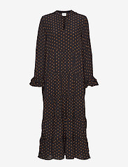 Just Female - Musette maxi dress - maksimekot - dot aop - 0