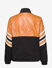 Just Female - Venus track jacket - bomber jakker - black yellow stripe - 2