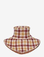Just Female - Harper knit buff - huivit - harper golden check aop - 0