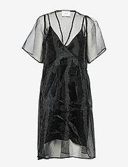 Just Female - Timmo dress - midi dresses - golden brown dot - 0