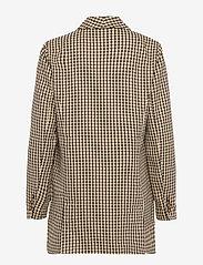 Just Female - Abena blazer - oversize blazers - white and brown check - 1