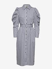 Just Female - Sindra dress - summer dresses - sindra stripe - 0